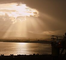 View From Invergordon To Ben Wyvis by Alex Young