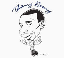 Thiery Henry Caricature by mechanimation