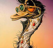 Elvis Emu by John  Murray
