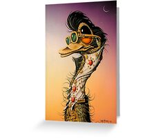Elvis Emu Greeting Card