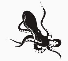black octopus by antony hamilton