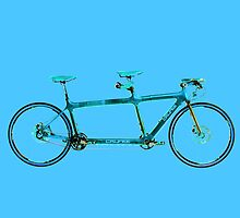 Tandem Bicycle by tinncity