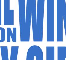 BBC Sherlock - East Wind tee Sticker
