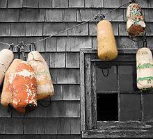 Buoys on Shanty by Harv Churchill