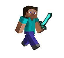 Steve - Minecraft by janeemanoo