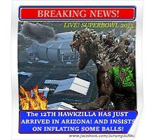 THE 12th HAWKZILLA aka THE 12th GODZILLA Poster