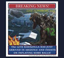THE 12th HAWKZILLA aka THE 12th GODZILLA by ScrumpSchkin