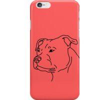 Staffie Head iPhone Case/Skin