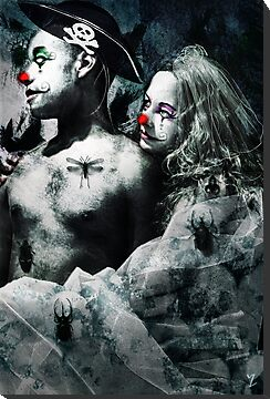 Clown Love by Line Svendsen