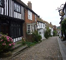 Mermaid Street, Rye, East Sussex by fatherb
