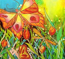 Butterfly Fantasy by Francine Dufour Jones