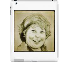 Jeff Cohen, Chunk, Goonies drawing iPad Case/Skin