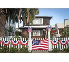 Fourth of July on the Island Photographic Print