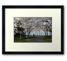 Relaxing Beauty Framed Print