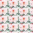 Beautiful pink azalea flower. digital photo art. by naturematters