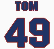 National baseball player Tom Filer jersey 49 by imsport