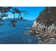 In Lighthouse Park, West Vancouver, BC, Canada Photographic Print