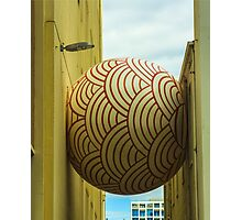 The Adelaide's Big Ball between Walls Photographic Print