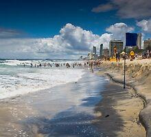 Main Beach - Gold Coast by Nicholas Coote