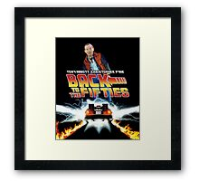 Back To The Fifties Framed Print