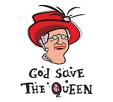 God Save The Queen by povalyaeva