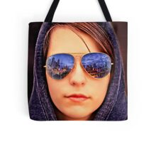City Reflection Tote Bag