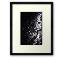 Into The Galaxy (Forward) Framed Print
