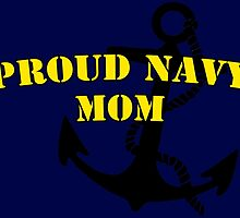 Proud Navy Mom by Speedlimate
