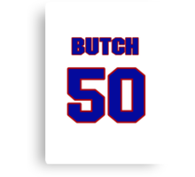 National baseball player Butch Henry jersey 50 Canvas Print