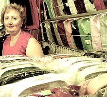 the ladies of the riga market #1 by Talya Chalef