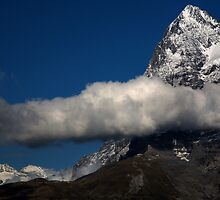 Eiger from Murren 2  by David Hutcheson