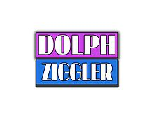 Dolph Ziggler Logo Design (Miami Vice) Photographic Print
