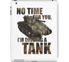 Driving a Tank iPad Case/Skin