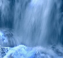 Waterfall Blue by haymelter