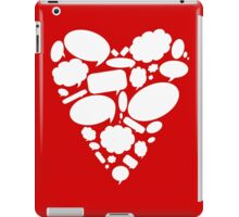 Hearts Thoughts iPad Case/Skin