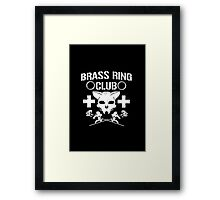"Brass Ring Club ""Cesaro and Ryson Kid"" Framed Print"