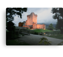 Ross castle evening view Metal Print