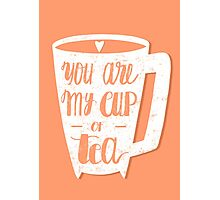 My cup of tea Photographic Print