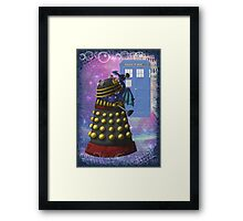 The Dalek and the Dragon Thief Framed Print