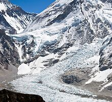 Everest Base Camp - Khumbu Icefall by David Recht