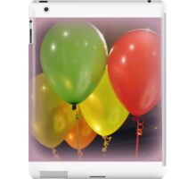 Balloons for a Party iPad Case/Skin