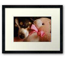 Pure Friendship Framed Print