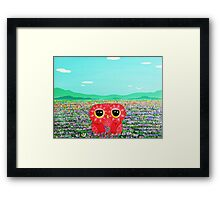 Tulip Love Affair Framed Print