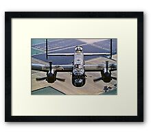 Lancaster B.1 up close and personal Framed Print