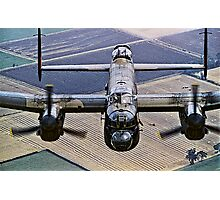 Lancaster B.1 up close and personal Photographic Print