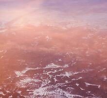 Sunset Clouds From Above by David Lamb