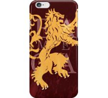 Lannister iPhone Case/Skin