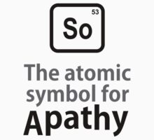Atomic Symbol for Apathy Kids Clothes