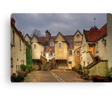 White Horse Close Canvas Print