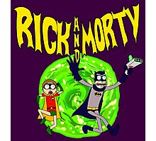 Rick and Morty Batman Reality Photographic Print